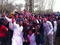 Holi celebrations, Twickenham