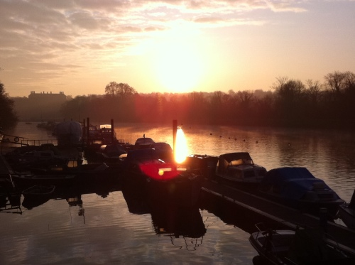 Thames sunrise