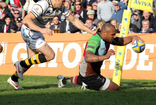 Quins v Wasps (Copyright Andrew Fosker / Seconds Left )