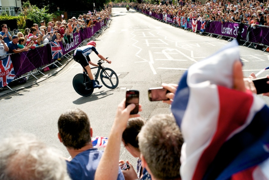 Wiggins in action (copyright Richard Clemence)