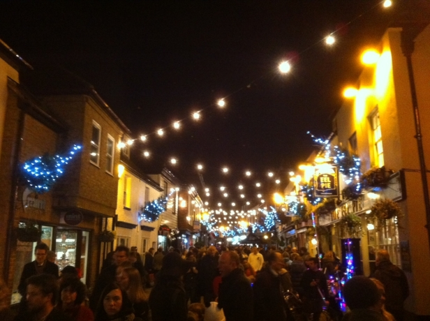 Twickenham Christmas Lights 2012 Church St