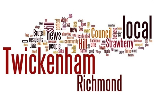 "Twickerati ""Wordle"" graphic"