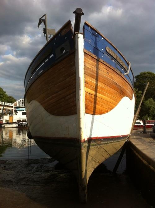 A boat. In Twickenham