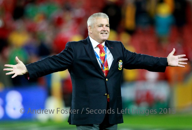 Coach Gatland's a happy man [© Andrew Fosker / Seconds Left Images 2013]