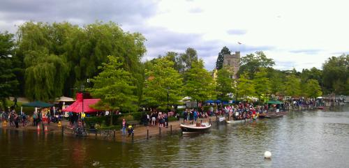 High tide at the Dragon Boat races