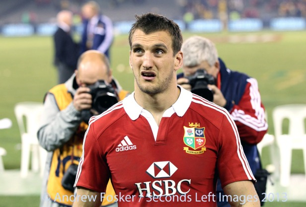A disappointed Sam Warburton [c Andrew Fosker / Seconds Left Images]