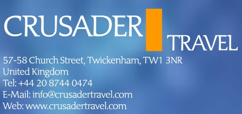 Crusader Travel logo for Twickerati