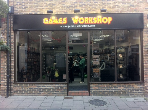 Games Workshop, Church Street