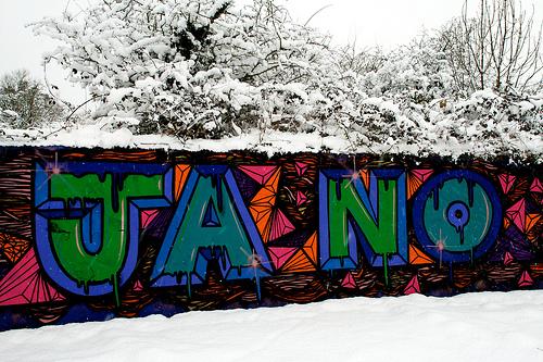 Crane Valley Blog: Graffiti [copyright: Richard Clemence]