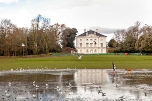 Marble Hill House (& lake) [courtesy of  Garth Tucker]