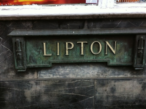 Lipton sign - York Street