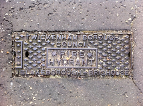 Twickenham Borough Council - fire hydrant