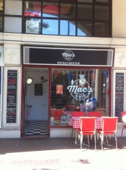 Mac's Diner. Home to Twickenham indoor market.