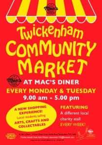Twickenham Community Market at Mac's Diner