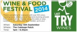 Last Try Wines - Wine & Food Festival
