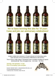 10 Years of Twickenham Fine Ales
