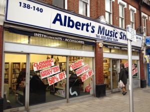 Albert's Music Shop