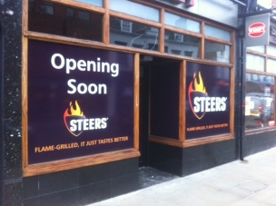 Steers, London Road