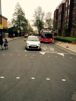 Arragon Road advance cycle stop