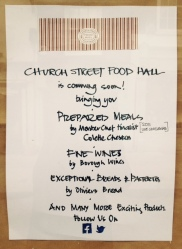 Church Street Food Hall poster (click to enlarge)