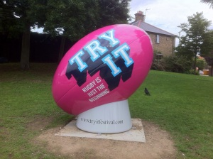 Big balls around the borough