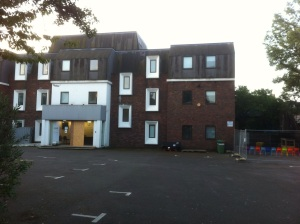 Heathgate House car park / Twickenham Primary Academy playground
