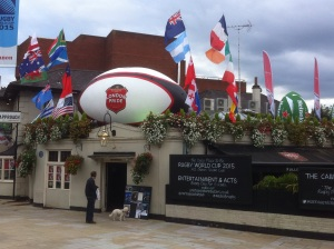 Twickenham. A town with balls.
