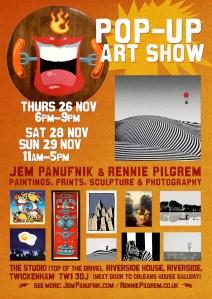 Pop up Panufnik show