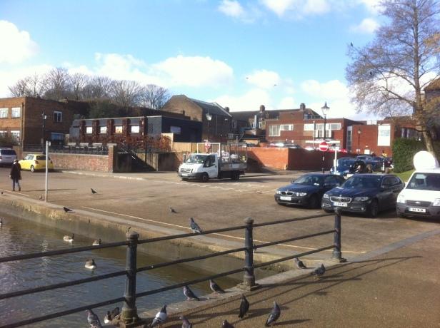 Twickenham riverside site from Embankment