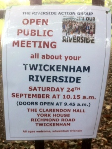 Public meeting about Twickenham Riverside