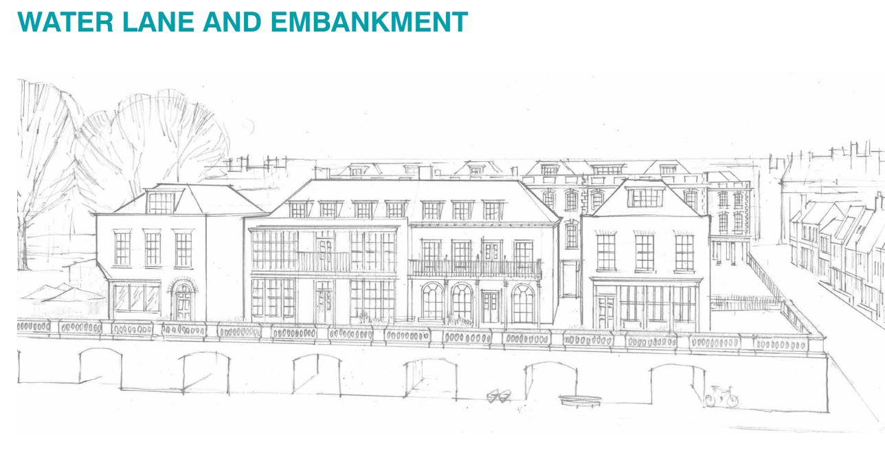 It S Poundbury Upon Thames New Riverside Designs For